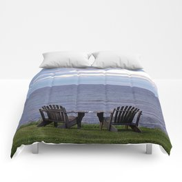 Seating by the Sea Comforters