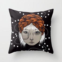 Gaze Throw Pillow