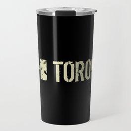 Canadian Flag: Toronto Travel Mug