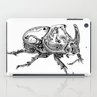 beetle iPad Cases featuring Beetle by Conor McAllister