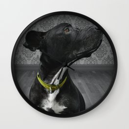 COBY (shelter pup) Wall Clock