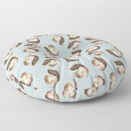 squirrel pattern Floor Pillow