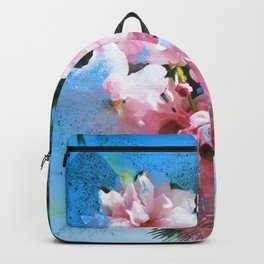 Abstract Cherry Blossom Backpack
