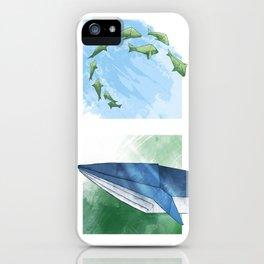 Down in the Ocean iPhone Case