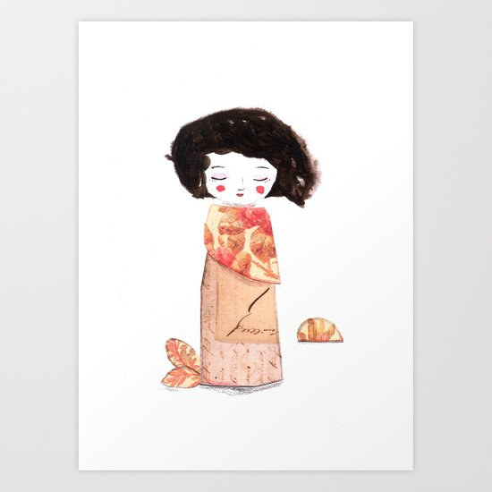 Oriental Art Print