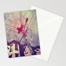 Wires Stationery Cards