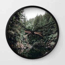 Moulton Falls Wall Clock