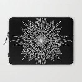 Mandala Star Tattoo Laptop Sleeve