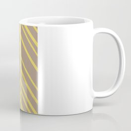 Painted Herringbone - in Marigold Coffee Mug