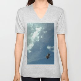 Bee Happy Unisex V-Neck