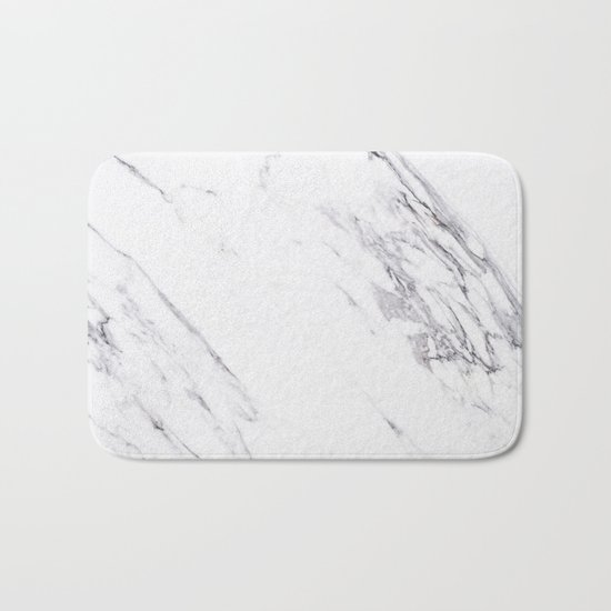 Marble - Classic Real Marble Bath Mat