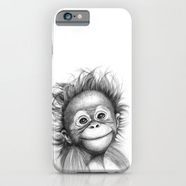 Monkey - Baby Orang outan 2016 G-121 iPhone Case