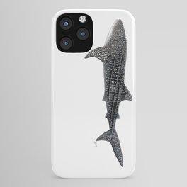 Whale shark Rhincodon typus iPhone Case