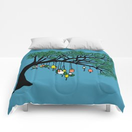 Buoy Tree by Seasons K Designs for Salty Raven Comforters
