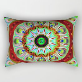 Mandala kaleidoscope Rectangular Pillow