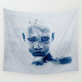 Magnificent EYES - Karo Tribe Ethiopia Wall Tapestry