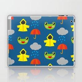rainy days (Children's pattern) Laptop & iPad Skin