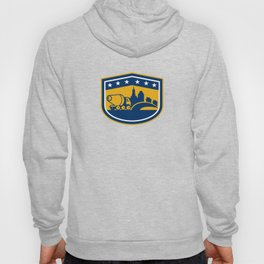 Cement Truck Construction Building Shield Hoody