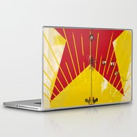 soviet Laptop & iPad Skins featuring Soviet+Electricity (Idol#1) by canefantasma