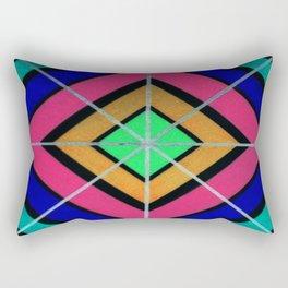 Faded Lines Rectangular Pillow