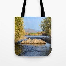 Salt River Arizona Tote Bag