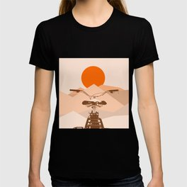 Bicycle in the sun T-shirt