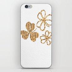 PAPERCUT FLOWER 4 iPhone & iPod Skin