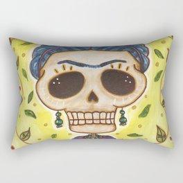 Frida Day of the Dead Rectangular Pillow