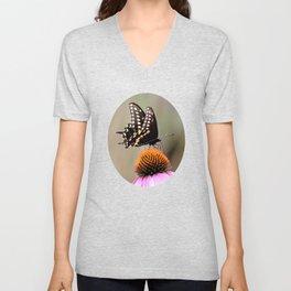 Butterfly Beauty Unisex V-Neck