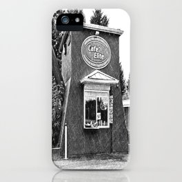 Coffee pot stand iPhone Case