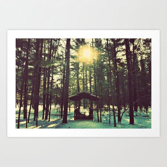 Until the Sun Doesn't Shine Art Print