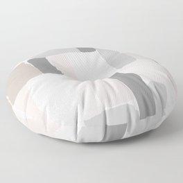 Soft Pastels Composition 2 Floor Pillow