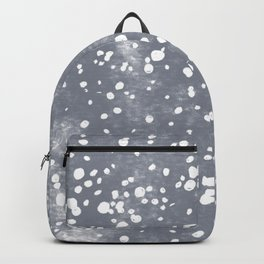 baby blue bambi dots Backpack