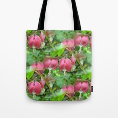 Bleeding Hearts - Dicentra Tote Bag