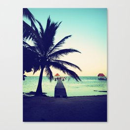 Road to paradise Canvas Print
