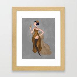 Miss Fisher Framed Art Print