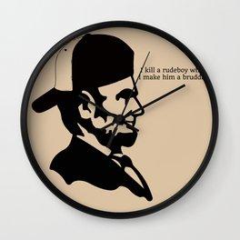 Badman Abraham Wall Clock