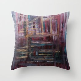 There's NY Throw Pillow