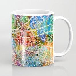 Liverpool England Street Map Coffee Mug