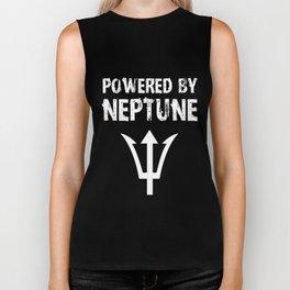 Powered by Neptune! Trident tshirt Biker Tank