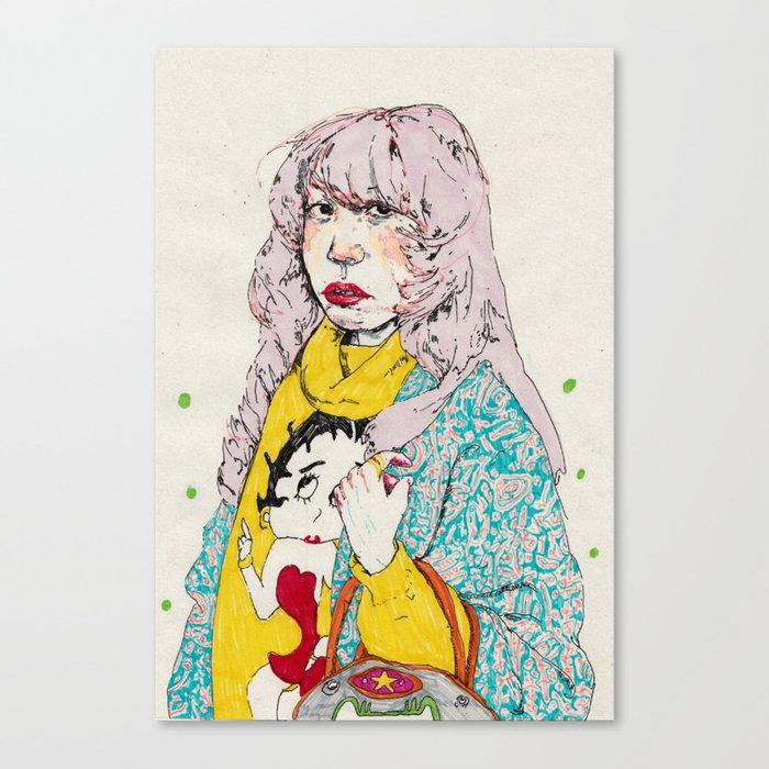 girl9 Canvas Print