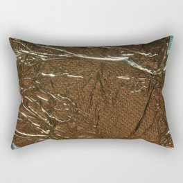 Golden Wrinkles Rectangular Pillow