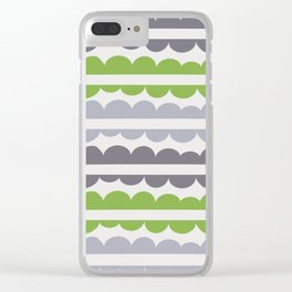 Mordidas Greenery Clear iPhone Case