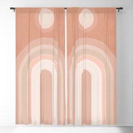 Minimal Geometric 124 Blackout Curtain