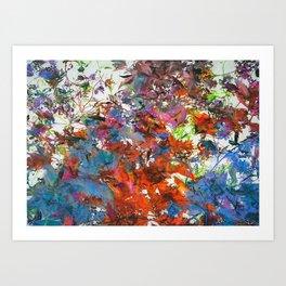 Autumnal Foliage Art Print
