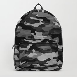 Camouflage (Gray) Backpack
