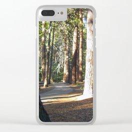Yosemite Trail Clear iPhone Case