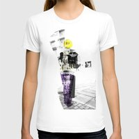 manchester T-shirts featuring Manchester Street FASHION by Anca Pora
