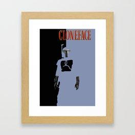 Cloneface Framed Art Print