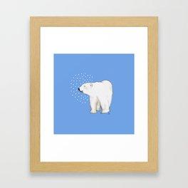 Polar Bear #8 Framed Art Print